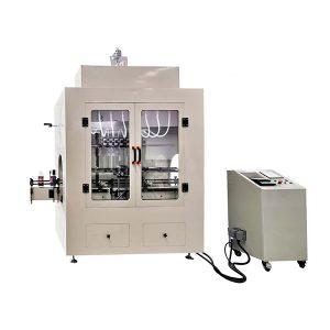 Máquina de enchimento de líquido corrosivo tipo linear