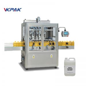 Máquina automática de enchimento à prova de explosão para líquidos inflamáveis