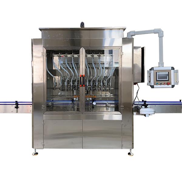 Máquina automática de enchimento de líquidos por gravidade