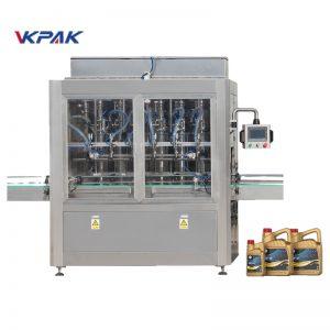 Máquina automática de enchimento de óleo de lubrificação linear