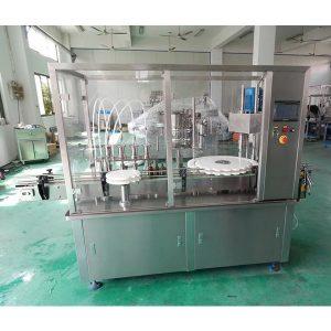 Máquina automática de enchimento e tamponamento de xarope líquido oral
