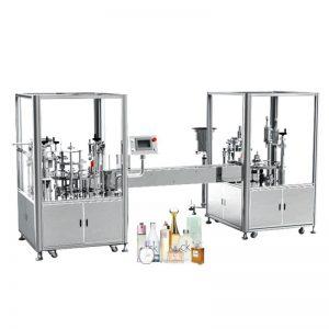 Máquina automática de enchimento e tamponamento de perfume