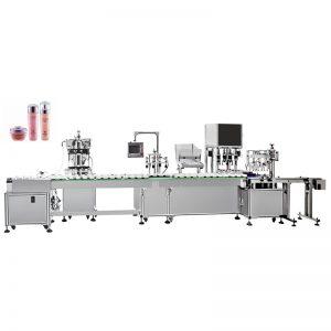 Máquina automática de enchimento e tamponamento de emulsão de água