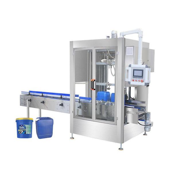 Máquina de enchimento automática com pesagem de rede