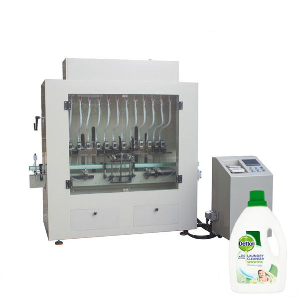 Enchedor de garrafas de limpador líquido desinfetante