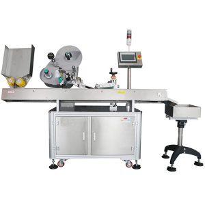 Máquina de rotulagem horizontal servo de alta velocidade para produtos instáveis