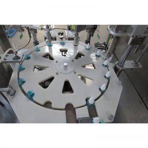 Máquina de enchimento, tamponamento e repelente de mosquitos líquidos
