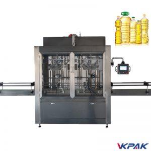 Máquina de enchimento de garrafa de pistão
